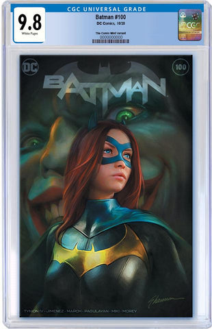 BATMAN #100 SHANNON MAER TRADE DRESS VARIANT LIMITED TO 3000 CGC 9.8 PREORDER