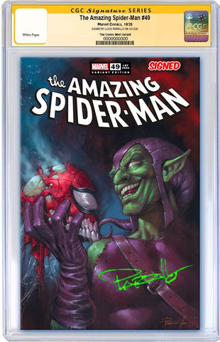 AMAZING SPIDER-MAN #850 LUCIO PARRILLO VARIANTS