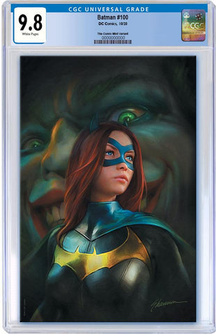 BATMAN #100 SHANNON MAER VIRGIN VARIANT LIMITED TO 600 WITH COA CGC 9.8 PREORDER