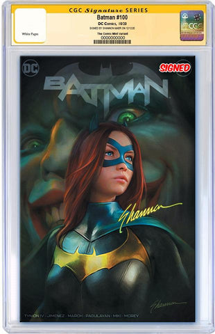 BATMAN #100 SHANNON MAER TRADE DRESS VARIANT LIMITED TO 3000 CGC SS PREORDER