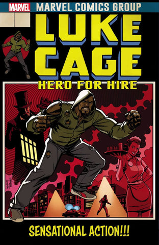 LUKE CAGE #166 LENTICULAR LEGACY HOMAGE BY DAVE JOHNSON