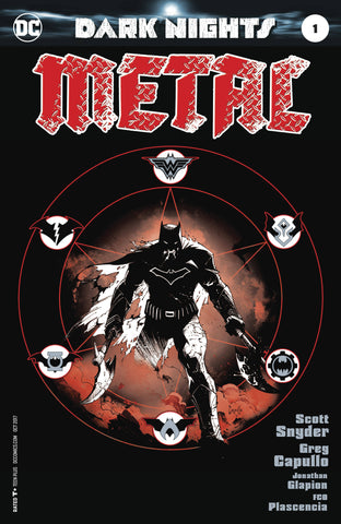 DARK NIGHTS METAL #1 1:100 CAPULLO MIDNIGHT VARIANT