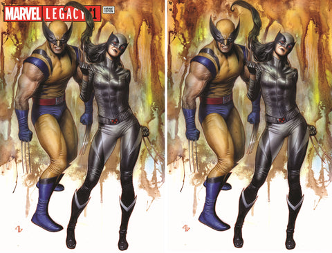 MARVEL LEGACY #1 EXCLUSIVE ADI GRANOV VIRGIN VARIANT SET LIMITED TO 1800/600 BOTH SIGNED BY ADI GRANOV WITH COA