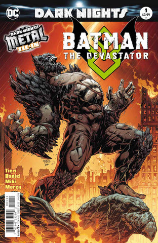 1/11/2017 BATMAN: THE DEVASTATOR #1 FOIL STAMPED COVER