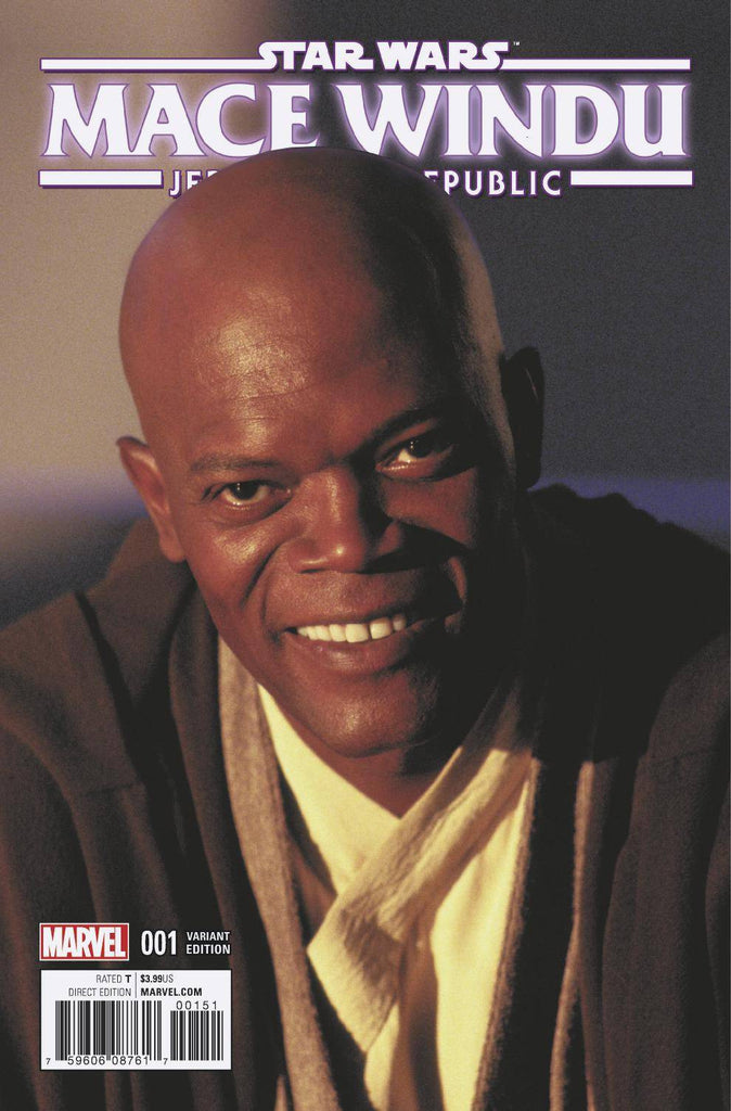 STAR WARS JEDI REPUBLIC MACE WINDU #1 1:10 MOVIE VARIANT