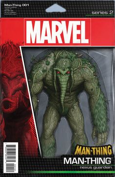 MAN-THING #1 JOHN TYLER CHRISTOPHER ACTION FIGURE VARIANT