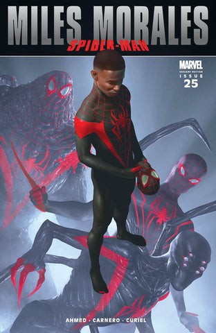 MILES MORALES #25 RAHZZAH ULTIMATE FALLOUT #4 TRUE HOMAGE VARIANT LIMITED TO 1500 COPIES