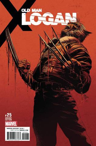 14/06/2017 OLD MAN LOGAN #25 MIKE DEODATO 1:25 TEASER VAR (MR)