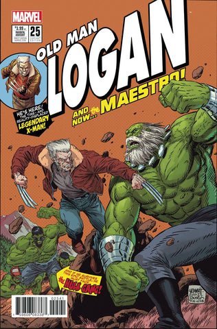 14/06/2017 OLD MAN LOGAN #25 GRUMMETT 1:10 HOMAGE VAR (MR)