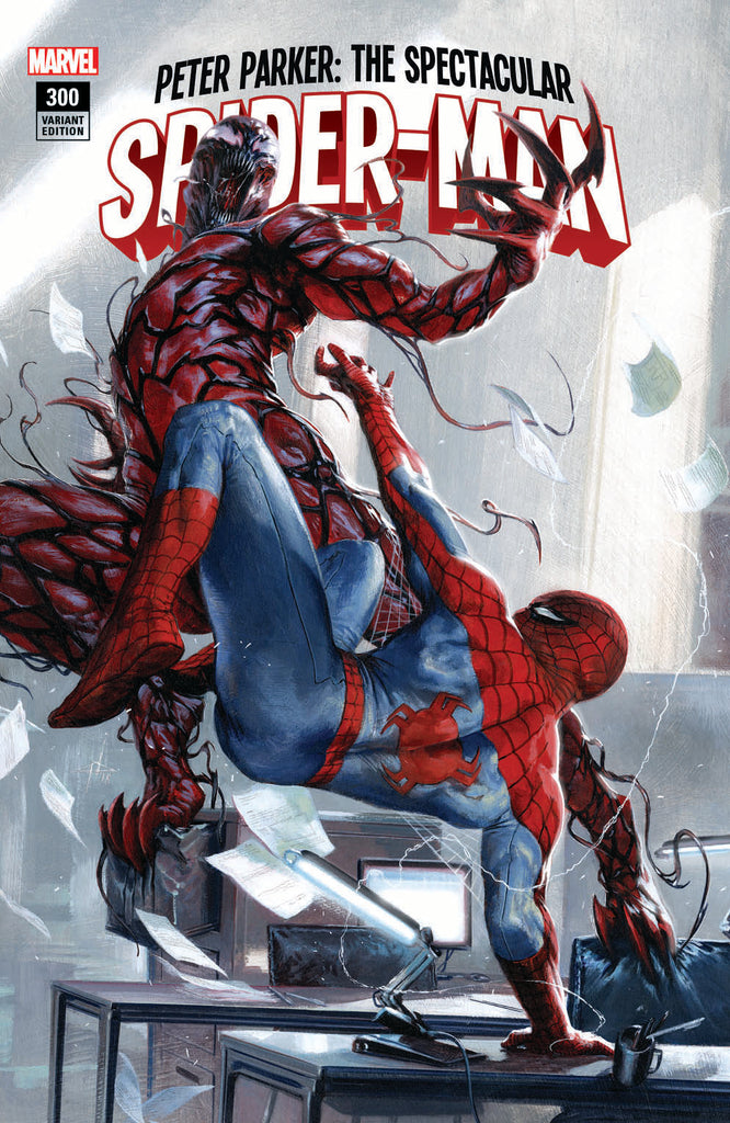 PETER PARKER SPECTACULAR SPIDER-MAN #300 GABRIELE DELL'OTTO TRADE VARIANT LIMITED TO 3000 COPIES