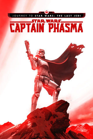 JOURNEY TO STAR WARS LAST JEDI CAPT PHASMA #1 (OF 4) EXCLUSIVE RAHZZAH VARIANT LIMITED TO 2000 COPIES