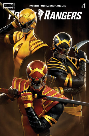 POWER RANGERS #1 RAFAEL GRASSETTI VARIANT LIMITED TO 1000 COPIES & ALL 6 RATIOS
