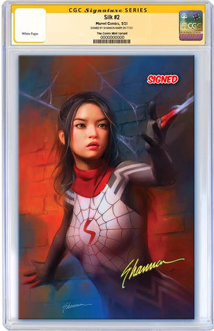 SILK #2 SHANNON MAER UNMASKED VIRGIN VARIANT LIMITED TO 1000 CGC SS PREORDER