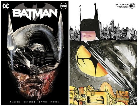 BATMAN #108 DAVID CHOE TRADE/MINIMAL TRADE DRESS VARIANT SET '1ST APP MIRACLE MOLLY' LIMITED TO 1500 SETS