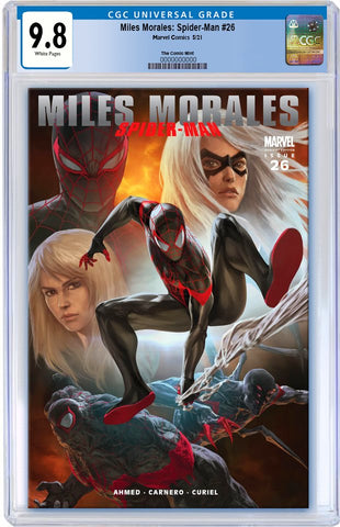 MILES MORALES SPIDER-MAN #26 SKAN ULTIMATE FALLOUT 4 DJURDJEVIC HOMAGE TRADE DRESS VARIANT LIMITED TO 3000 CGC 9.8 PREORDER