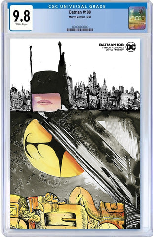 BATMAN #108 DAVID CHOE MINIMAL TRADE DRESS VARIANT '1ST APP MIRACLE MOLLY' LIMITED TO 1500 CGC 9.8