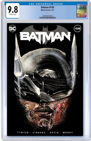 BATMAN #108 DAVID CHOE TRADE DRESS VARIANT '1ST APP MIRACLE MOLLY' LIMITED TO 3000 CGC 9.8