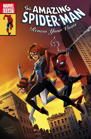 AMAZING SPIDER-MAN: RENEW YOUR VOWS #13 LENTICULAR LEGACY HOMAGE BY KHARY RANDOLPH