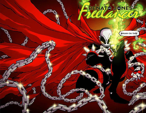 RENATO JONES SEASON TWO #1 (OF 5) SPAWN VARIANT MONTH