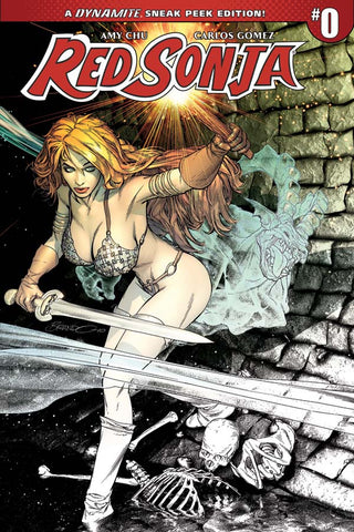 RED SONJA #0 1:50 PETERSON VARIANT