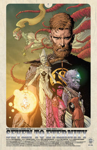 SEVEN TO ETERNITY #5 1:25 FOIL VARIANT