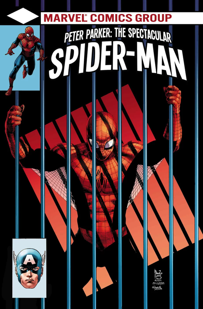 11/2017 PETER PARKER: THE SPECTACULAR SPIDER-MAN #297 LENTICULAR LEGACY HOMAGE BY PAULO SIQUEIRA