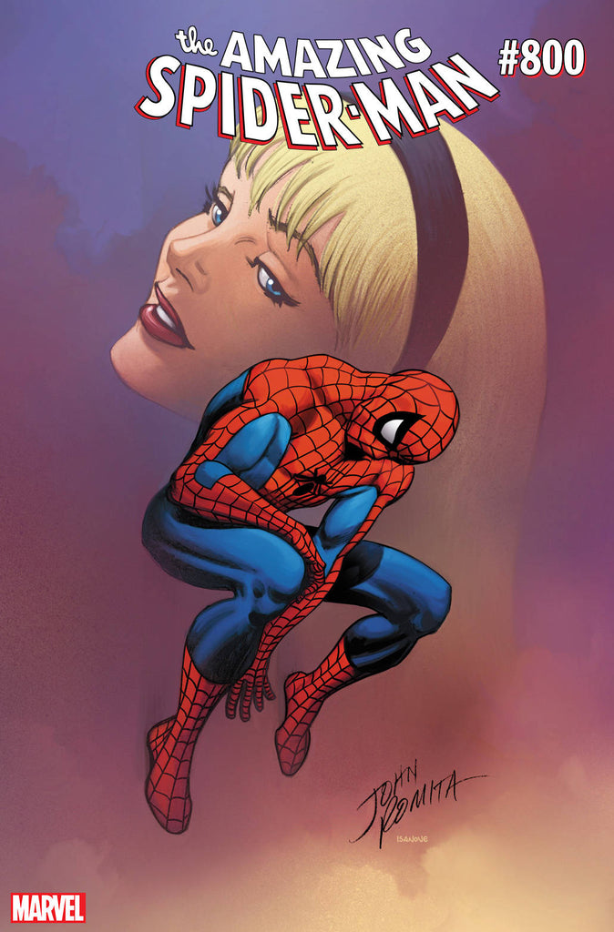 30/05/2018 AMAZING SPIDER-MAN #800 LEG JR SR VARIANT