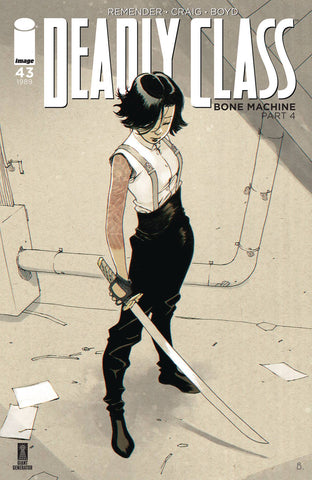 01/01/2020 DEADLY CLASS #43 CVR B BENGAL (MR)