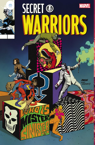 11/2017 SECRET WARRIORS #8 LENTICULAR LEGACY HOMAGE BY DAVE JOHNSON