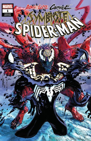 ABSOLUTE CARNAGE SYMBIOTE SPIDER-MAN #1 MIKE MAYHEW ASM #238 HOMAGE TRADE DRESS VARIANT LIMITED TO 1500 WITH NUMBERED COA
