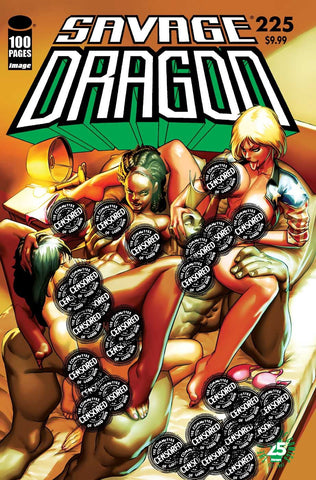 26/07/2017 SAVAGE DRAGON #225 25TH ANNIVERSARY CVR D XXX KRASH