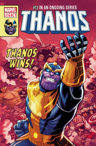 THANOS #13 LENTICULAR LEGACY HOMAGE BY JACEN BURROWS