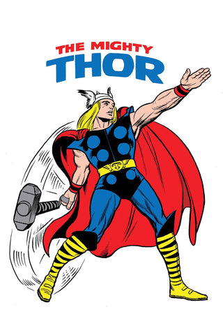 MIGHTY THOR #700 1:50 JACK KIRBY 1965 T-SHIRT VARIANT LEGACY