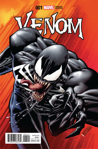 VENOM #1 1:25 LEONARDI VARIANT 1ST APP OF LEE PRICE