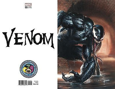NOW VENOM #1 GABRIELE DELL'OTTO COLOR B&W SECRET VARIANTS - Sad Lemon Comics