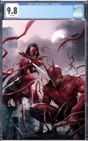EDGE OF VENOMVERSE #1 EXCLUSIVE FRANCESCO MATTINA VARIANT SET COLOUR & VIRGIN SET BOTH GUARANTEED CGC 9.8