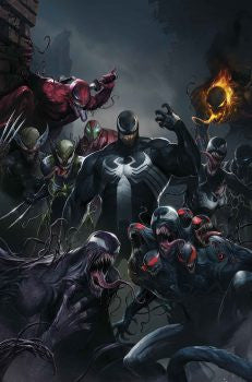 28/06/2017 EDGE OF VENOMVERSE #1 1:50 FRANCESCO MATTINA TEASER VARIANT - Sad Lemon Comics