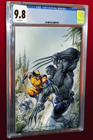 WEAPON H #1 CLAYTON CRAIN HULK 181 HOMAGE VIRGIN VARIANT LIMITED TO 1000 CGC 9.8 PREORDER