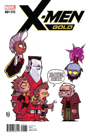 X-MEN GOLD #1 SKOTTIE YOUNG VARIANT
