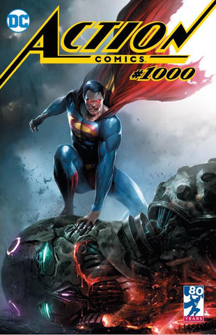 ACTION COMICS #1000 FRANCESCO MATTINA TRADE DRESS VARIANT LIMITED TO 3000 COPIES WORLDWIRDE