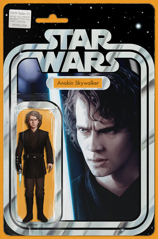 DARTH VADER #1 EXCLUSIVE JTC ANAKIN ACTION FIGURE VARIANT LIMITED TO 3000