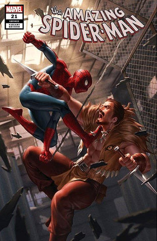 AMAZING SPIDER-MAN #21 JUNGGEUN YOON TRADE DRESS VARIANT LIMITED TO 1000 WITH NUMBERED COA