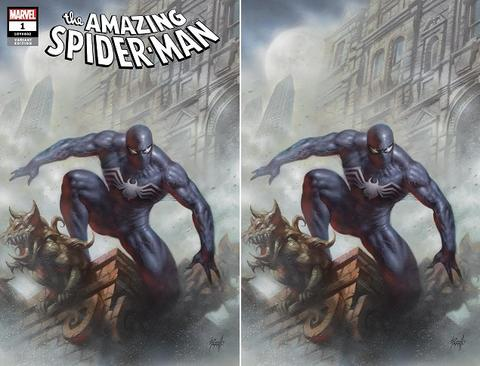 AMAZING SPIDER-MAN #1 LUCIO PARRILLO VARIANT TRADE/VIRGIN SET