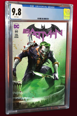 BATMAN #50 FRANCESCO MATTINA TRADE DRESS VARIANT LIMITED TO 3000 COPIES CGC 9.8 PREORDER
