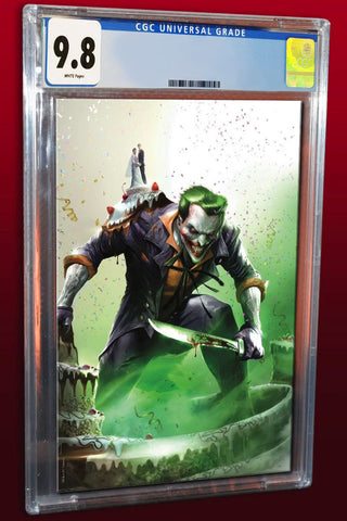 BATMAN #50 FRANCESCO MATTINA VIRGIN VARIANT LIMITED TO 1000 COPIES CGC 9.8 PREORDER