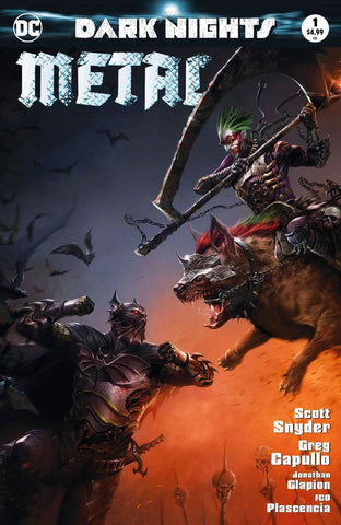 DARK NIGHTS METAL #1 FRANCESCO MATTINA MASKED TRADE VARIANT