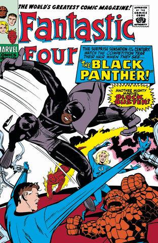 BLACK PANTHER #1 1:500 JACK KIRBY REMASTERED VARIANT