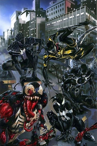 VENOMVERSE #1 CLAYTON CRAIN VIRGIN VARIANT LIMITED TO 600