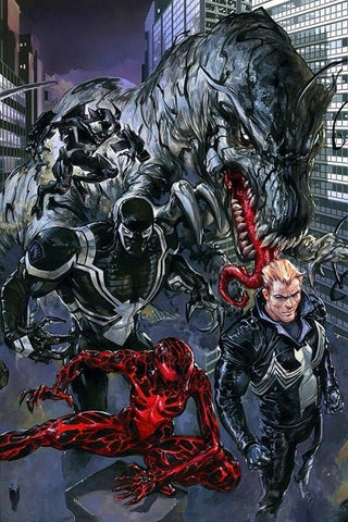 VENOMVERSE #2 CLAYTON CRAIN VIRGIN VARIANT LIMITED TO 600