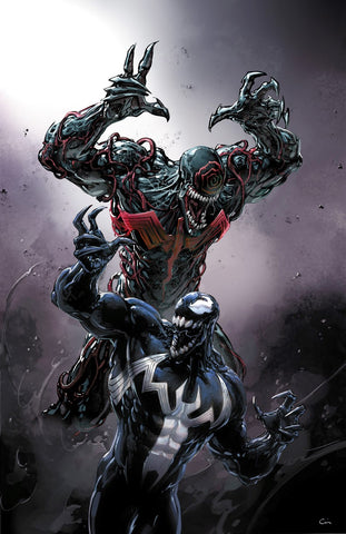 VENOM #2 CLAYTON CRAIN HEROES CON VARIANT LIMITED TO 1000